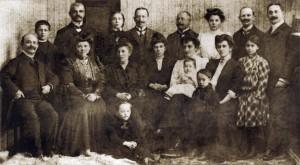 202 Żydowscy kupcy z Olesna 1907r.