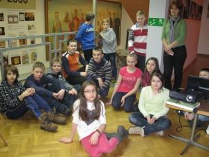 Dzieci w muzeum
