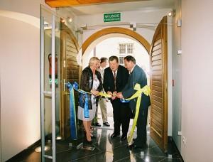 Otwarcie nowej siedziby muzeum w 2004 r.