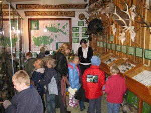 zajęcia w izbie leśno-łowieckiej