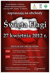 swieto flagi 2012 plakat v1