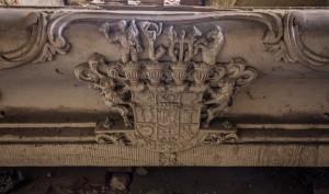Herb Reichenbachów w kościle w Goszczu