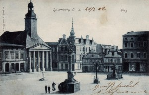 ROSENBERG O.-S. Schlesien 1908 Rosenberg Ring