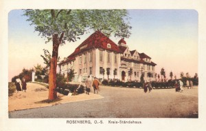216 Budynek Starostwa - kartka z 1913r. kopia