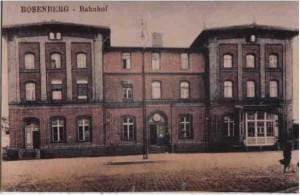 Dworzec sprzed 1921 r.