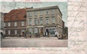 Hotel de Rome-Baginsky przy Rynku
