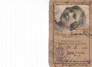 Dowód odobisty matki p. bogumiły Heleny burakowskiej z domu mroczek