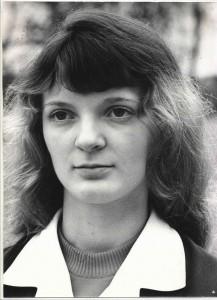 Krystyna Fierla jedna z najlepszych uczennic-, śr 5,00