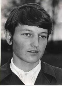 Waldemar Kaczmrek pierwszy uczeń ZSR 1973
