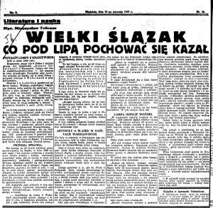 Polska Zachodnia 1937-01-10 R.12 nr 10 _ Lompa