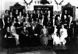 265 Zjazd Studnitzów pod koniec lat 30-tych XX w,