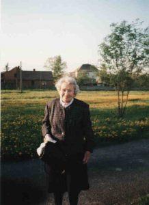 Helga Jengel von Studnitz przy DKF Świercze czerwiec 2005 r.