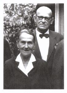 Jan Henryk von Studnitz z żoną Norą Brand