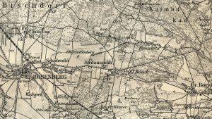 Mapa Rzeszy Niemieckiej - 1893 r