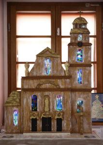 Kościół Bożego Ciała - praca podopiecznych WTZ w Oleśnie.