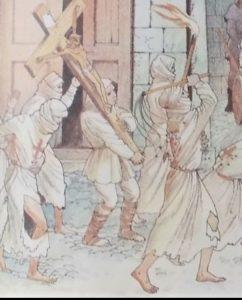 Obraz przedstawiający biczowników.
