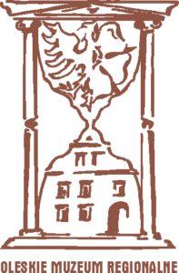 Logo Oleskiego Muzeum Regionalnego.