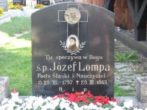 Nagrobek J. Lompy w Woźnikach